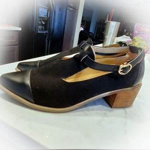 Shuerur  leather/ suede classy heels size 39/9